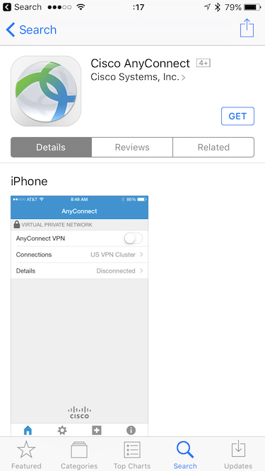 iOS App Store Search